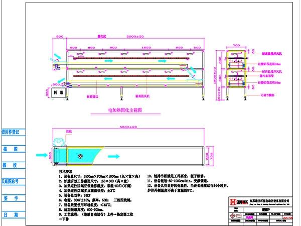 板链隧道炉5米