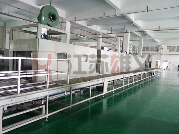 涂装生产线网带炉